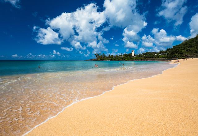 Hawaii Küste Oahu